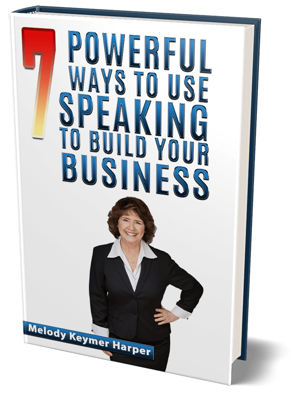 7 Powerful Ways to Use Speaking to Build Your Business guidebook cover